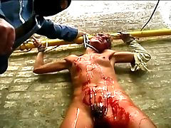 Tortured almost to death
